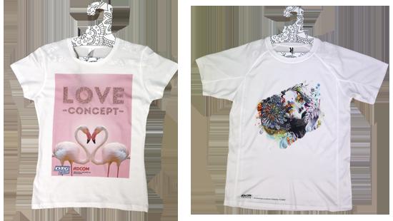 Печат и апликация върху бели тениски
