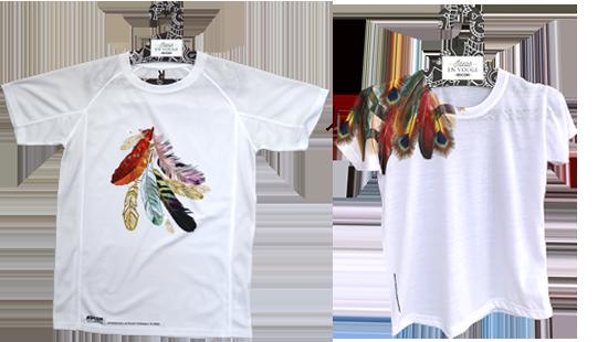 Апликация върху сублимирани тениски