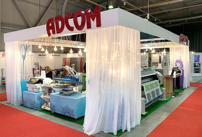 Adcom Booth TMT Expo 2019