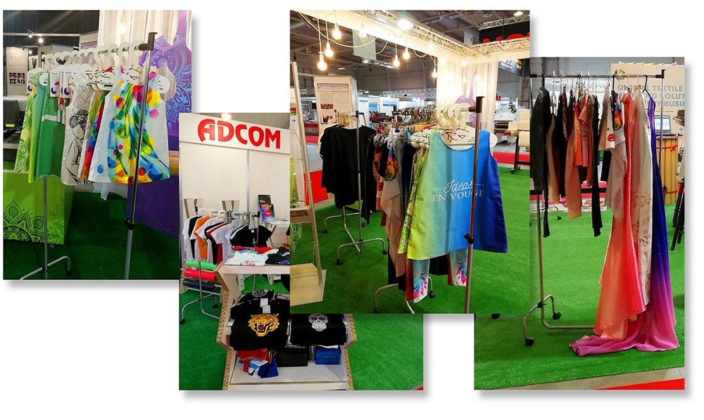 Adcom Booth TMT Expo 2019 Textile Applications