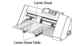 Graphtec CE7000 Carrier Sheet Table