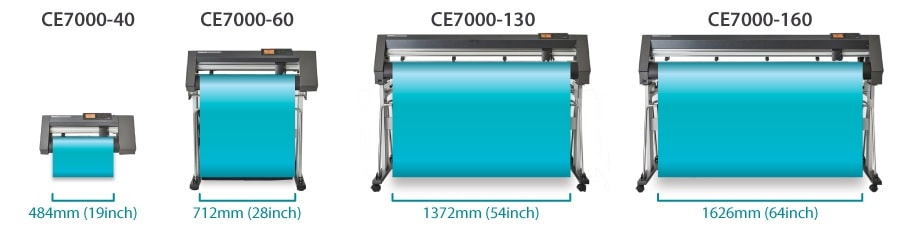Graphtec CE7000 Line-up