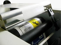 img auto laminating and weeding
