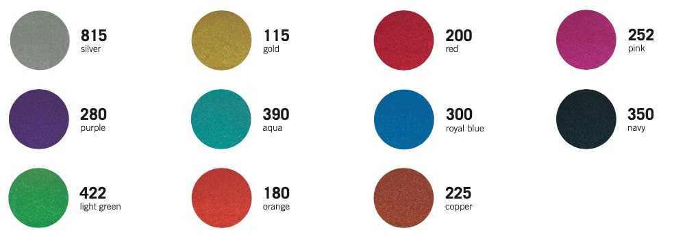 STAHLS CAD CUT Fancy color chart