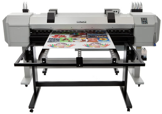 Mutoh  ValueJet 1617H - хибриден принтер с бели мастила
