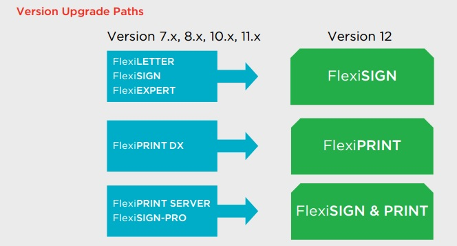 Flexi upgrade paths