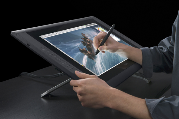Cintiq 22HD-In use v1