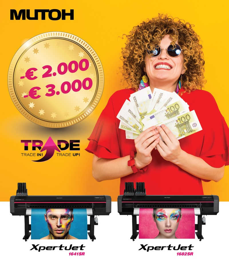 Mutoh Trade-in Action November 2019